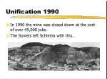 unification 1990