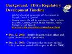 background fda s regulatory development timeline2
