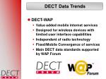 dect data trends