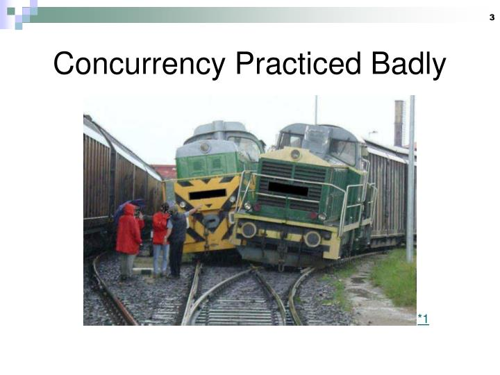 Concurrency practiced badly