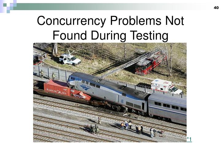 Concurrency Problems Not