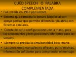 cued speech o palabra complementada