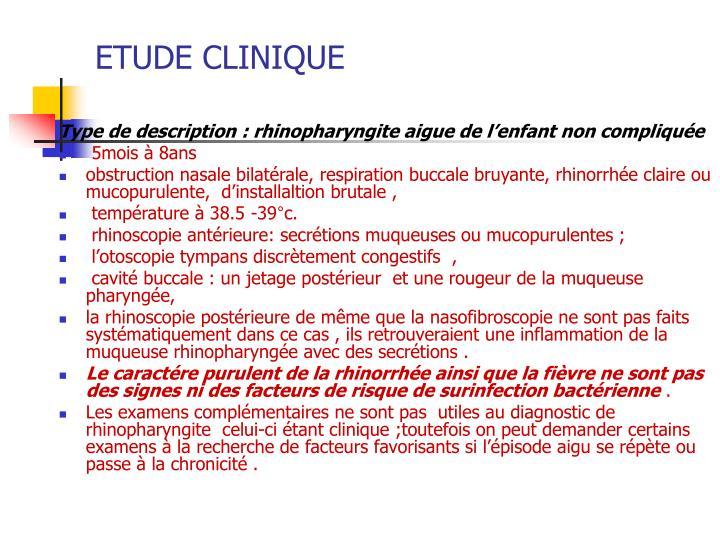 PPT - RHINOPHARYNGITES DE L'ENFANT ET DE L'ADULTE PowerPoint ...