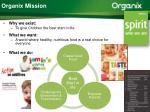 organix mission
