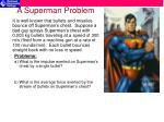 a superman problem