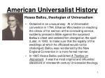 american universalist history5