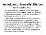 american universalist history8