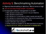activity 5 benchmarking automation