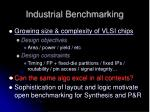 industrial benchmarking