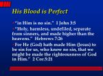 his blood is perfect1