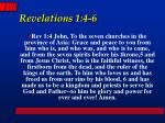 revelations 1 4 6