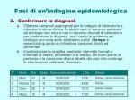 fasi di un indagine epidemiologica1