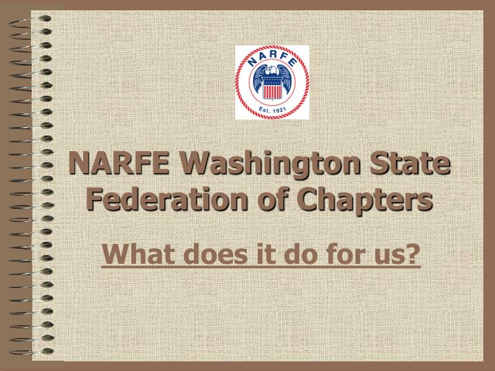 narfe washington state federation of chapters n.
