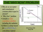 the why now problem