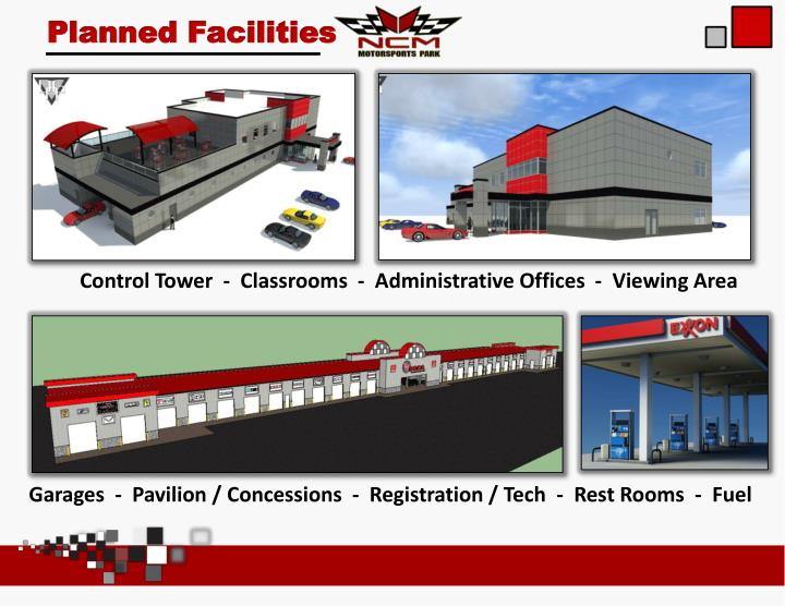 Planned Facilities