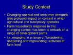 study context1