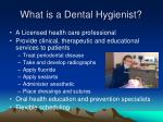 what is a dental hygienist