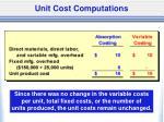 unit cost computations2