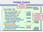 variable costing1