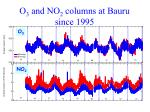 o 3 and no 2 columns at bauru since 1995