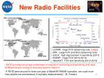 new radio facilities