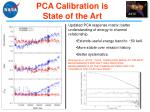 pca calibration is state of the art