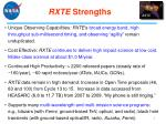 rxte strengths
