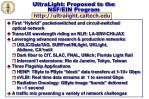 ultralight proposed to the nsf ein program