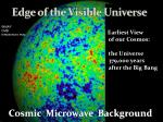edge of the visible universe