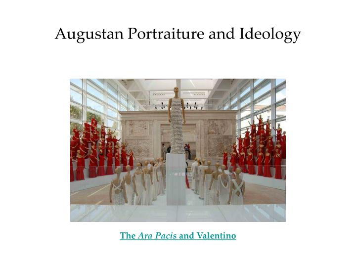 augustan portraiture and ideology n.
