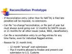 reconciliation prototype3