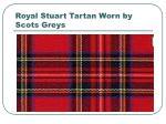 royal stuart tartan worn by scots greys