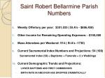 saint robert bellarmine parish numbers