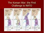 the korean war the first challenge to nato