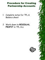 procedure for creating partnership accounts1