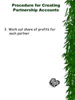 procedure for creating partnership accounts4