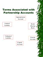 terms associated with partnership accounts