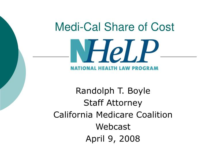medi cal share of cost n.