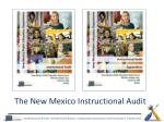 the new mexico instructional audit