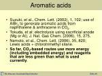 aromatic acids