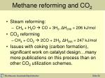 methane reforming and co 2