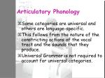 articulatory phonology
