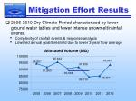 mitigation effort results3