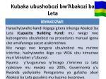 kubaka ubushobozi bw abakozi ba leta1