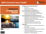 mdh extreme heat toolkit