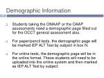 demographic information6