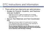 dtc instructions and information2