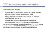 dtc instructions and information5