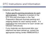 dtc instructions and information6
