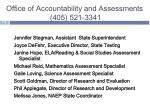 office of accountability and assessments 405 521 3341
